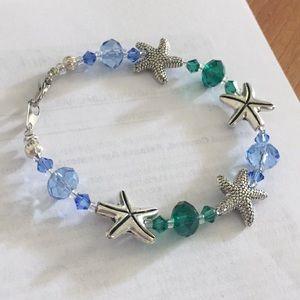 Handmade starfish bracelet